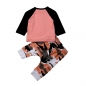 Mobile Preview: Baby Jungen 2-er Set Shirt und Hose 80